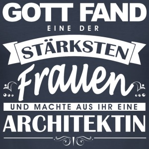 Architektin  Pullover & Hoodies - Männer Slim Fit T-Shirt