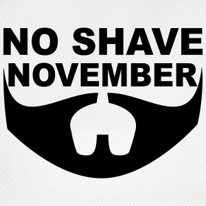 No Shave November T-Shirts - Baseball Cap