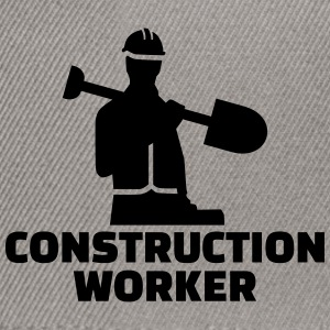 Construction worker T-Shirts - Snapback Cap