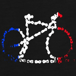 French Cycling Cap - Men's Premium T-Shirt