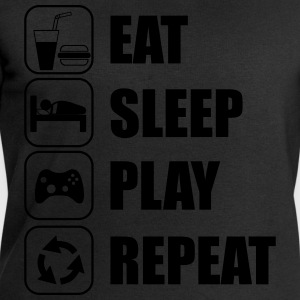 Eat,sleep,play,repeat Gamer Gaming - Men's Sweatshirt by Stanley & Stella