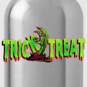 Trick or Treat Zombiehand Shirt - Trinkflasche