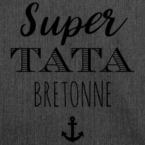 Super Tata Bretonne Sweat-shirts - Sac bandoulière 100 % recyclé