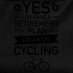 I Do have A Retirement Plan - I Plan On Cycling T-Shirts - Kids' Backpack