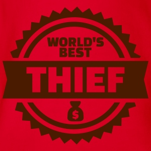 Thief T-Shirts - Baby Bio-Kurzarm-Body