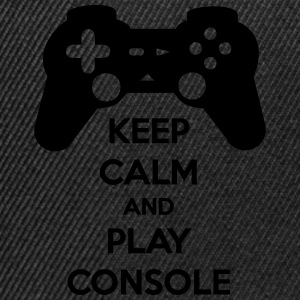 Keep calm and play console - Geek gamer - Casquette snapback