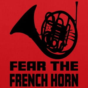Fear The French Horn - Stoffveske
