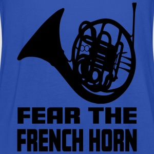 FEAR THE FRENCH HORN T-shirts - Dame tanktop fra Bella