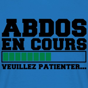 abdos 3 Tabliers - T-shirt Homme