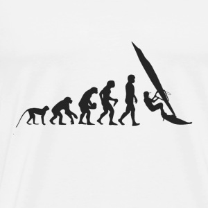 Evolution Windsurfing Baby-bodyer - Herre premium T-shirt