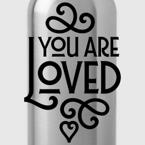 You Are Loved Camisetas - Cantimplora