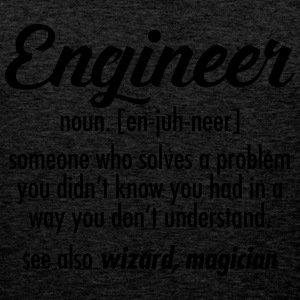 Engineer - Definition T-shirts - Premiumtanktopp herr