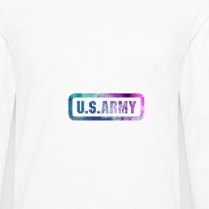 US ARMY COLLECTION HOMME - T-shirt manches longues Premium Homme