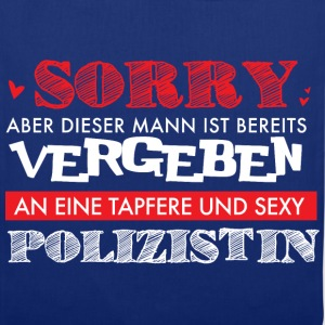 Sorry Polizistin  Pullover & Hoodies - Stoffbeutel