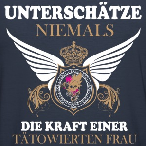 Tattoofrau Pullover & Hoodies - Männer Slim Fit T-Shirt