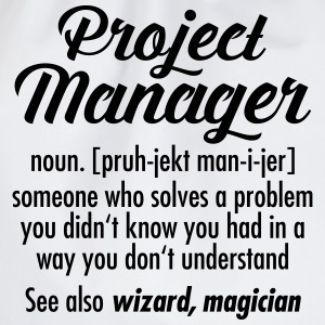 Project Manager - Definition T-shirts - Sportstaske