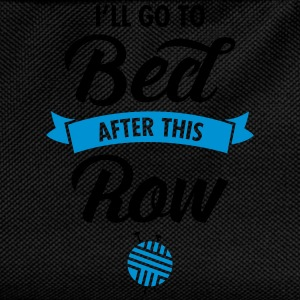 I'll Go To Bed After This Row Camisetas - Mochila infantil