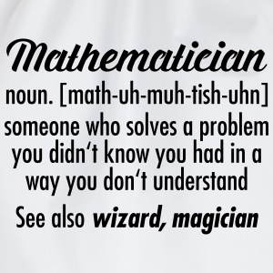 Mathematician - Definition T-shirts - Gymtas