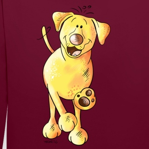 Funny Labrador Bags & Backpacks - Contrast Colour Hoodie