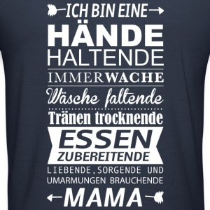 Mama  Pullover & Hoodies - Männer Slim Fit T-Shirt