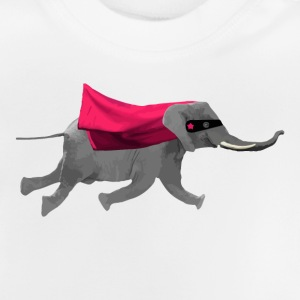 Flying elephant T-shirts - Baby-T-shirt
