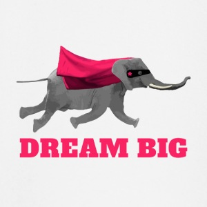 Flying Elephant  Dream big T-Shirts - Baby Langarmshirt