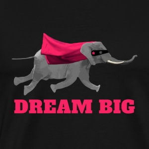 Elephant volant Dream big Sweat-shirts - T-shirt Premium Homme