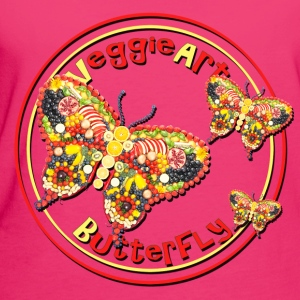 VeggieArt Butterfly – Fly High and feel free! - Frauen Bio-T-Shirt