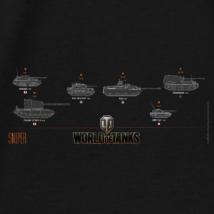World of Tanks Sniper - Men's Premium T-Shirt