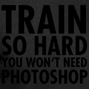 Train So Hard You Won't Need Photoshop T-shirts - Sweatshirt herr från Stanley & Stella