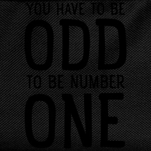 You Have To Be Odd To Be Number One T-shirts - Rygsæk til børn