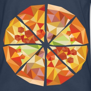 Geometric pizza - Men's Premium Longsleeve Shirt
