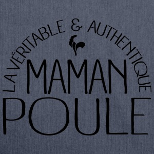 Maman Poule Sweat-shirts - Sac bandoulière 100 % recyclé