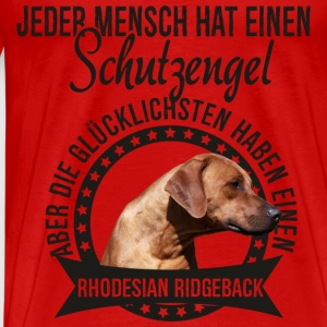 My guardian angel - Rhodesian Ridgeback Long Sleeve Shirts - Men's Premium T-Shirt