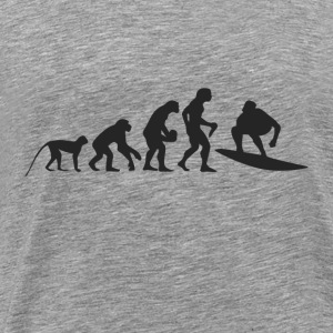 Evolution surf Hoodies & Sweatshirts - Men's Premium T-Shirt