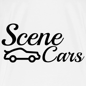 SceneCars Long Pillow - Men's Premium T-Shirt