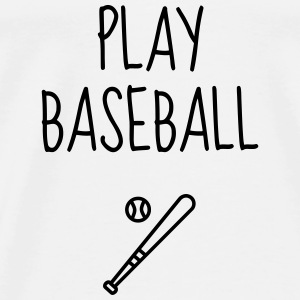 Baseball - Bat - Béisbol - Sport - Winner  Baby Bodysuits - Men's Premium T-Shirt