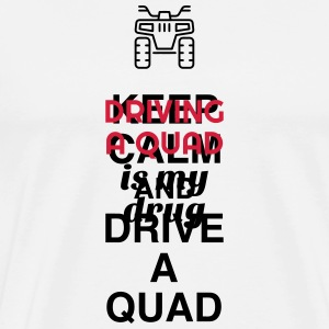 Driver - Driving - Fahren - Quad - Auto - ATV Mugs & Drinkware - Men's Premium T-Shirt