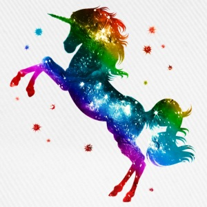 Unicorn rainbow, galaxy, space, gay, fantasy T-Shi - Baseball Cap