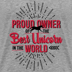 Unicorn owner Tops - Men's Premium T-Shirt