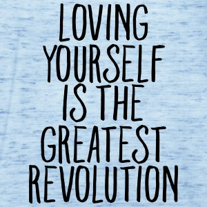 Loving Yourself Is The Greatest Revolution T-shirts - Dame tanktop fra Bella