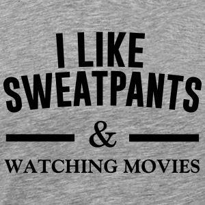 I like sweatpants Sweatshirts - Herre premium T-shirt