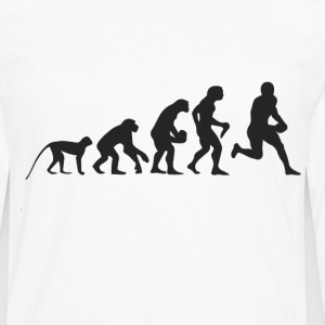 Evolution Football T-shirts - Herre premium T-shirt med lange ærmer