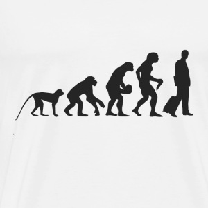 Evolution Business Tröjor - Premium-T-shirt herr