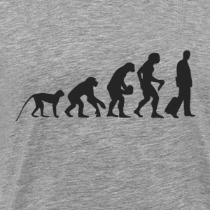 Evolution Business Langarmshirts - Männer Premium T-Shirt
