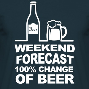 Weekend Forecast Hoodies & Sweatshirts - Men's T-Shirt