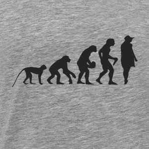 Evolution Model Langarmshirts - Männer Premium T-Shirt