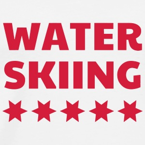 Water Skiing - Wasserski - Ski Nautique - Sport Baby Bodysuits - Men's Premium T-Shirt