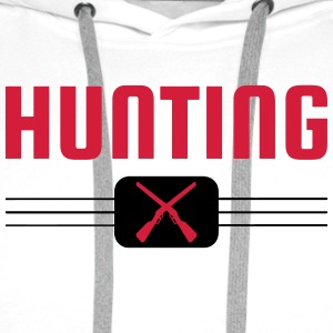 Hunting - Hunter - Hunt - Jagd - Chasse T-Shirts - Men's Premium Hoodie