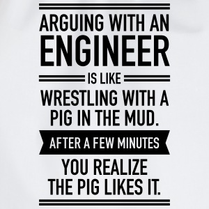 Arguing With An Engineer... Tee shirts - Sac de sport léger
